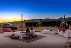 Romantic Dinner In Dubai Desert Safari
